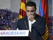 Bóng đá - Họp báo chia tay Barca, Xavi đẫm lệ