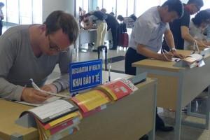 Sức khỏe đời sống - Tận mắt xem chặn dịch MERS-CoV tại sân bay Nội Bài