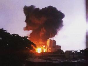 Thế giới - Ghana: Trạm xăng nổ như bom, 96 người chết thảm