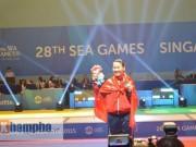 """Video hot SEA Games 28 - Đấu kiếm Việt Nam lại """"gặt"""" 2 HCV SEA Games 28"""
