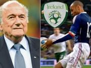 Tin bên lề bóng đá - FIFA hối lộ Ireland 5 triệu euro để Pháp dự World Cup