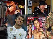 """Ngôi sao bóng đá - SAO 360 độ: Benzema """"bay đêm"""" cùng Rihanna"""