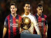 """Bóng đá Tây Ban Nha - """"QBV 2016 sẽ thuộc về Neymar"""""""