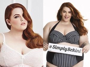"""Đồ lót - đồ bơi - """"Nàng béo xinh như hoa hậu"""" chỉ cách mặc bikini"""