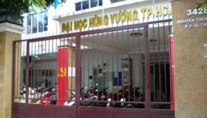 Giáo dục - du học - Đại học Hùng Vương chưa được tuyển sinh trở lại