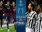 Cup C1 - Champions League - Juventus đấu Barca ở chung kết C1: Khi con số biết nói