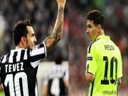 """Ngôi sao bóng đá - Messi và Tevez: Thiên tài đối đầu """"Người hùng nhân dân"""""""