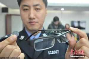 """Giáo dục - du học - Bất ngờ với đồ nghề quay cóp """"siêu tinh vi"""" của sĩ tử Trung Quốc"""