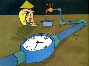 Có một thời ta đã sống (8): Kỹ thuật tắm ít nước