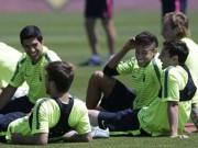 """Bóng đá - Sao Barcelona thoải mái... làm """"chuyện ấy"""" trước chung kết C1"""