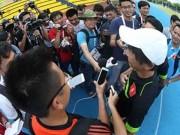 Tin HOT SEA Games 28 - HLV Toshiya Miura: 'Mạc Hồng Quân rất ăn ý với Công Phượng'