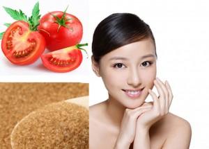 Tự làm tẩy tế bào chết từ cà chua và đường nâu