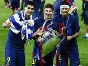 Bóng đá Ý - Barca - Juventus: Vinh danh tân vương châu Âu