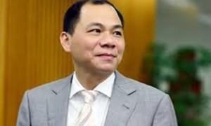 """Tỉ phú Phạm Nhật Vượng """"trúng đậm"""" gần 550 tỷ"""