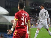 """Ngôi sao bóng đá - Cầu thủ ấn tượng tuần 1-7/6: """"CR7 Việt"""" ghi bàn như """"CR7 xịn"""""""