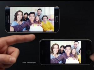 Dế sắp ra lò - Samsung 'chế giễu' iPhone 6 trong quảng cáo S6 Edge