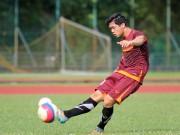 """Bóng đá - U23 VN: Công Phượng một mình tập """"bắn"""" chờ Thái Lan"""