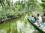"""Du lịch Việt Nam - Về Kiên Giang thăm """"thiên đường"""" trái khóm Tắc Cậu"""