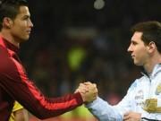 """Bóng đá Ý - Messi """"đè bẹp"""" Ronaldo về giá trị chuyển nhượng"""