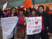 Các giải bóng đá khác - Giáo viên Chile biểu tình trước khai mạc Copa America