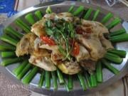 Đặc sản 3 miền - Gà hấp cải bẹ xanh ngọt, nồng và thơm