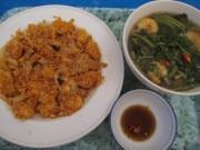 Đặc sản 3 miền - Bắt con tôm càng rim trứng vịt muối ăn chơi