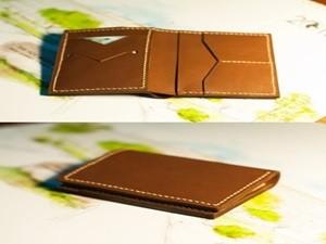 Thời trang nam - Nam sinh truyền tay bí quyết làm ví da handmade