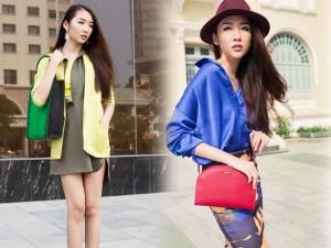 Thời trang - Cô nàng mùa hè trẻ trung với những gam màu rực rỡ