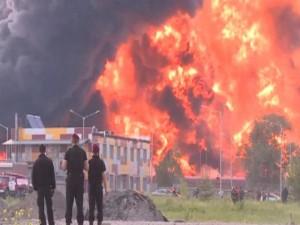 Ukraine: Nổ lớn gần kho tên lửa, cứu hỏa chạy tháo thân