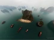 Du lịch - Vịnh Hạ Long đẹp tuyệt vời qua ảnh panorama từ trên cao