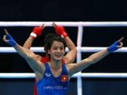 """Các môn thể thao khác - Võ sĩ Lê Thị Bằng: Đoạt HCV nhờ làm """"bịch bông"""" cho đồng đội nam... đấm"""