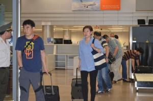 Đà Nẵng: Áp dụng tờ khai y tế với hành khách đến từ Hàn Quốc