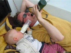 Lão Đồng Nát và gã say rượu
