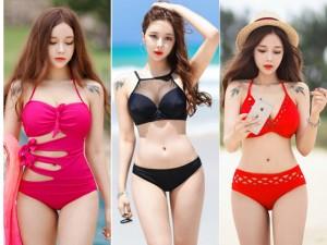 8X + 9X - Hot girl đẹp nhất HQ khiến fan điên đảo với ảnh bikini