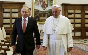 Tin tức trong ngày - Ông Putin lại trễ hẹn, Giáo hoàng phải đợi một giờ