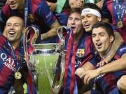 """Bóng đá - """"Cú ăn ba"""" giúp Barca nhận hợp đồng tài trợ """"khủng"""""""