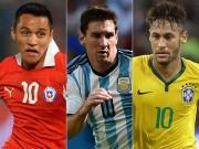 """Các giải bóng đá khác - Hàng công """"khủng"""" Copa America: Sanchez-Messi-Neymar"""
