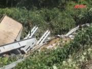 Camera hành trình - Quảng Ngãi: Ôtô rơi xuống vực, 4 người nguy kịch