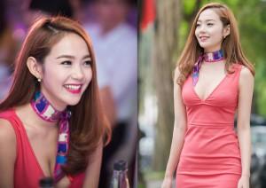 Ca nhạc - MTV - Minh Hằng khoe đường cong gợi cảm ở Thủ đô