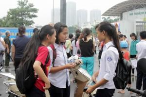 Giáo dục - du học - Thi vào lớp 10 tại Hà Nội: Nhiều thí sinh tự tin đạt điểm cao môn Tiếng Anh