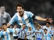 Các giải bóng đá khác - Argentina – Paraguay: Messi khởi đầu giấc mơ