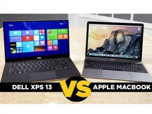 Thời trang Hi-tech - So sánh Macbook 12 inch và Dell XPS 13: Siêu mỏng, siêu di động