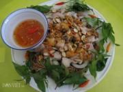 Ẩm thực - Về Rạch Giá nhớ thưởng thức gỏi sò lông trộn bắp chuối