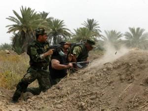 Thế giới - Chống IS, binh lính Iraq dựa cả vào dân quân