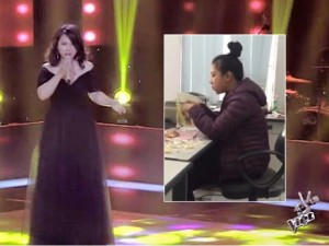 Ca nhạc - MTV - Cô gái vừa ăn vừa hát: Khó xử khi được The Voice ưu ái