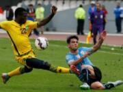Bóng đá - Uruguay – Jamaica: Ra quân nhọc nhằn