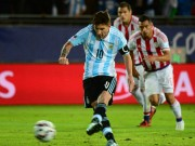 Ngôi sao bóng đá - Messi nổi giận, ĐT Argentina mắc sai lầm
