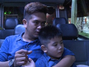 Phim - Hùng Thuận nghiêm khắc dạy bảo khi con trai nói dối
