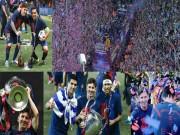 Tin bên lề bóng đá - Real chúc mừng cú ăn 3, Barca mất toi 600 nghìn VNĐ