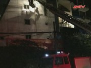 Video An ninh - HN: Cháy nhà 5 tầng, 7 người trong gia đình thoát chết